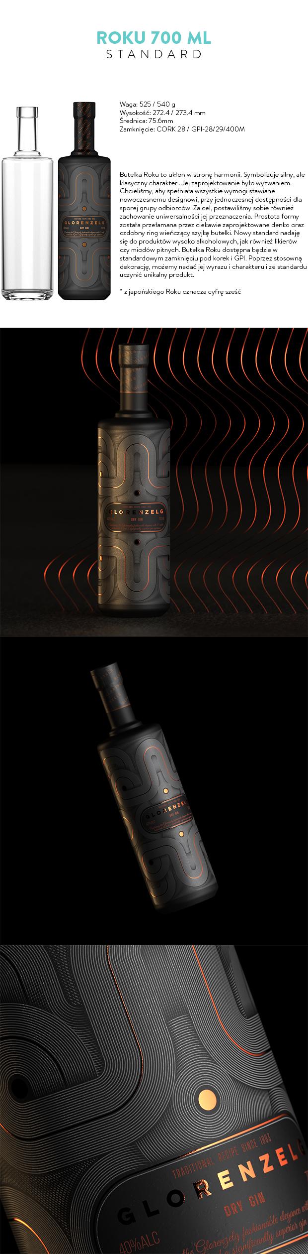 Roku 700ml Standard Bottle  Copy